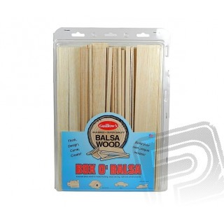 Box O'Balsa Large (3lb case)