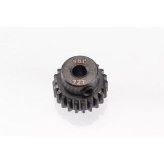 48DP ocelový pastorek, 1 ks. (22 zubů)
