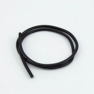 Szilikon kábel 1,8qmm, 16AWG, 0,5 méter, fekete
