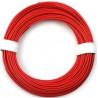 Kabel silikon 10.0mm2 1m (červený)