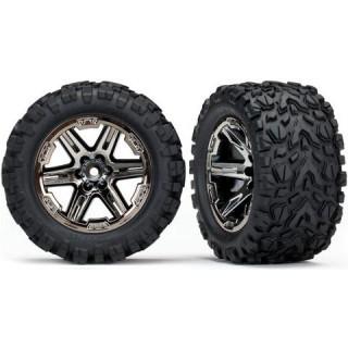 """Traxxas kolo 2.8"""", disk RXT černý chrom, pneu Talon Extreme (2)"""