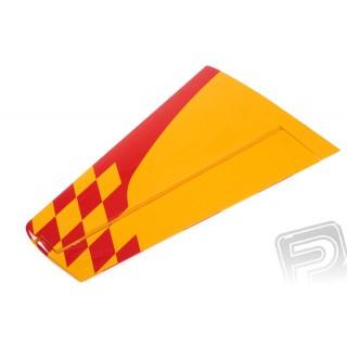 ND YAK 55M 1.4m křídlo červ/žlut L