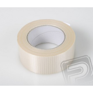 Skelná páska 50mm křižná vlákna Tornádo (50 m)
