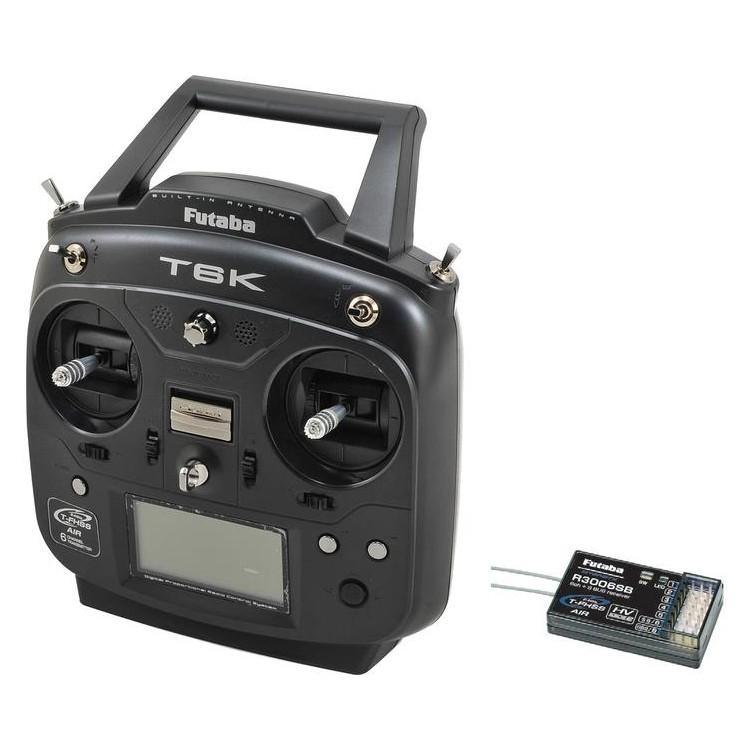 Futaba T6K 2.4GHz Mód 2, R3006SB