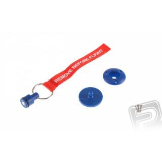 Zátka na odvzdušňovací hadičku (modrá)