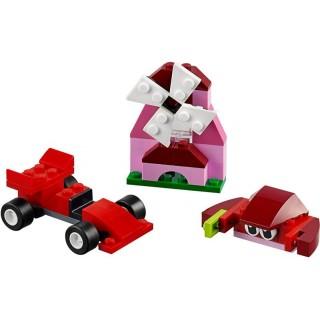 Elemek és egyebek Piros kreatív készlet LEGO® 10707