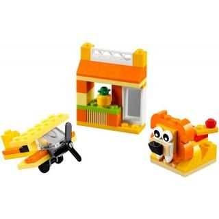 Elemek és egyebek Narancssárga kreatív készlet LEGO® 10709