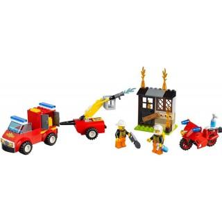LEGO® Juniors - Tűzoltó járőr játékbőrönd LEGO® 10740