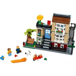 LEGO Creator - Městský dům se zahrádkou