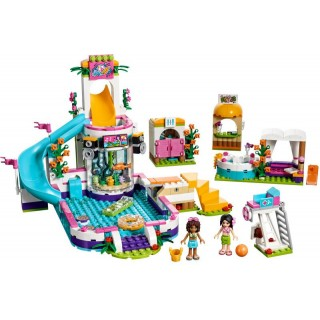 LEGO Friends - Letní bazén v městečku Heartlake