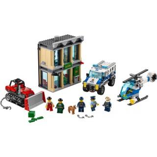 LEGO City - Vloupání buldozerem