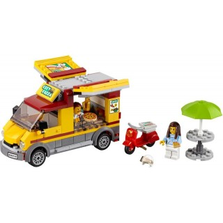 LEGO City - Dodávka s pizzou