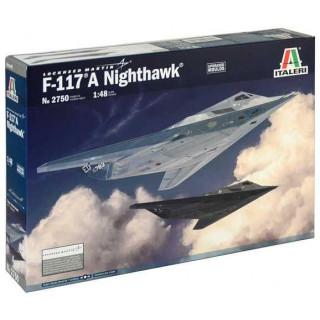Model Kit letadlo 2750 - F-117A NIGHTHAWK (1:48)