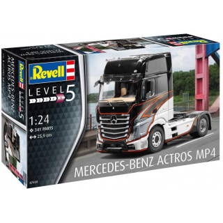 Plastic ModelKit auto 07439 - Mercedes-Benz Actros MP4 (1:24)