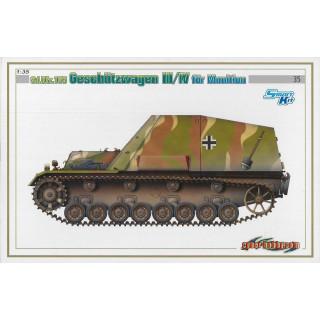 Model Kit military 6151 - Sd.Kfz.165 GESCHÜTZWAGEN III/IV für MUNITION (SMART KIT) (1:35)