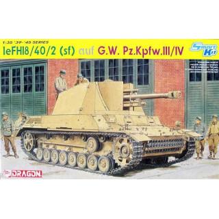 Model Kit military 6710 - leFH18/40/2 (Sfl) auf G.W PZ. KPFW. III/IV (SMART KIT) (1:35)