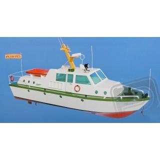 PILOT stavebnice lodivodského člunu