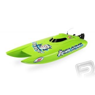 Offshore Lite Sea Rider V3 2,4Ghz RTR zelený