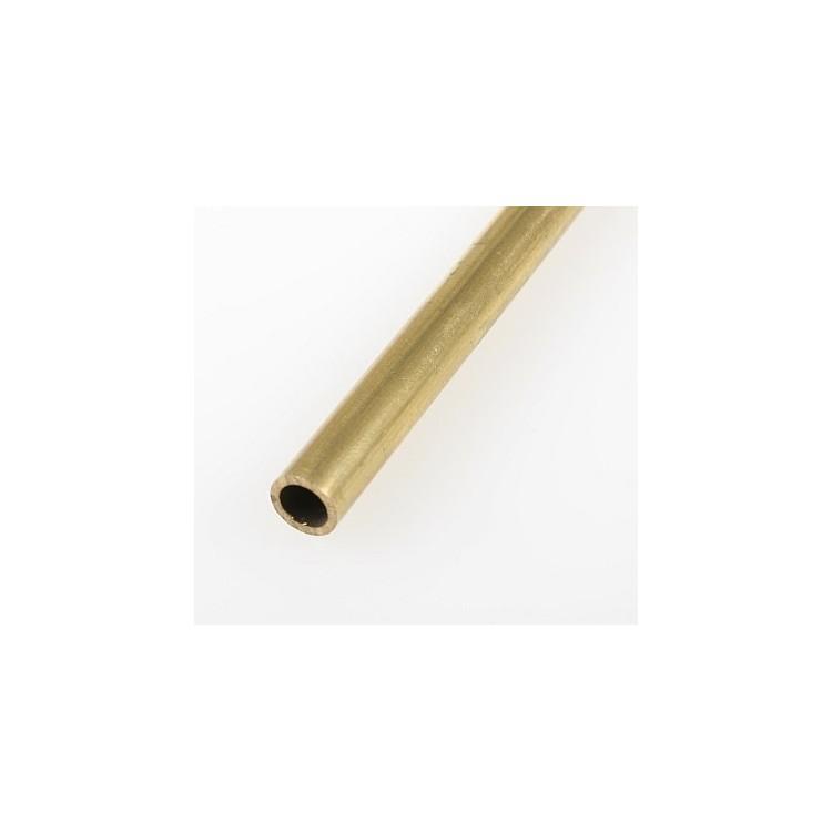 Mosazná trubička, tvrdá 7,0/5,2 mm
