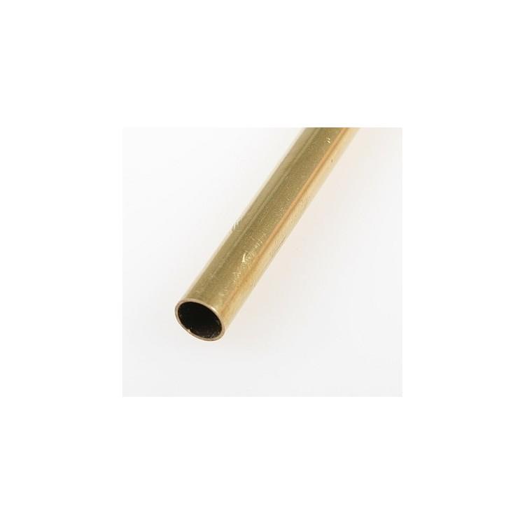 Mosazná trubička, tvrdá 7,0/6,2 mm