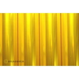 ORACOVER 10m Transparentní žlutá (39)