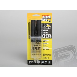 Super Glue EPOXY Instant set 28,3g (1oz) 90s epoxy az adagolóban