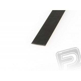 Szén/karbon lap 0.3x30mm 1m