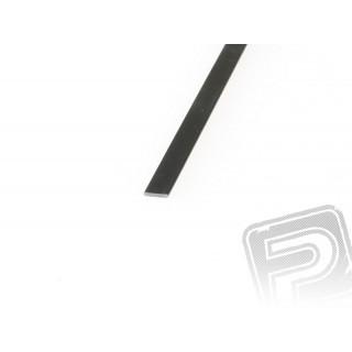 Szén/karbon lap 0.5x3mm 1m