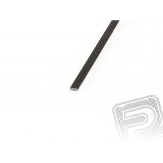 Szén/karbon lap 1x3mm 1m