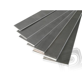Duralumínium lemez 1.6x20x1000mm