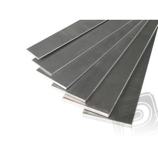 Dúralumínium lap 1.6x50x1000mm