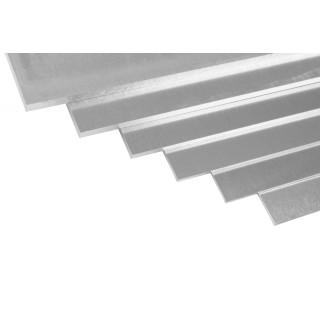 Duralumínium lemez 500x250x1,5 mm