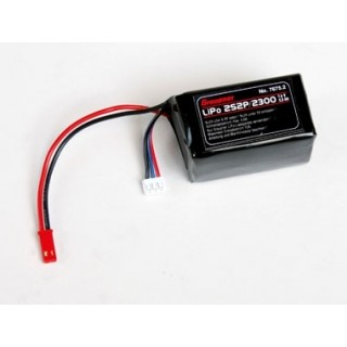 LiPo RX 2S2P/2300 mAh 7,4V BEC-S
