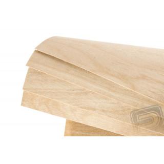 Nyírfa rétegelet lemez FLEXI 1.2mm 30x60cm PELIKÁN