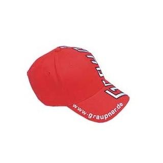 "Baseball sapka - piros ""Graupner Modellbau"""