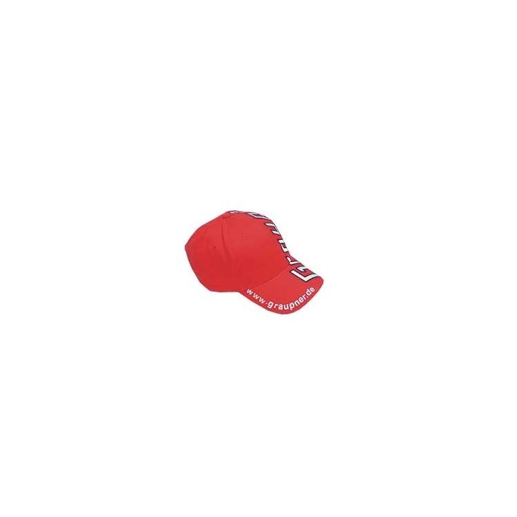 "Červená čepice ""Graupner Modellbau"""