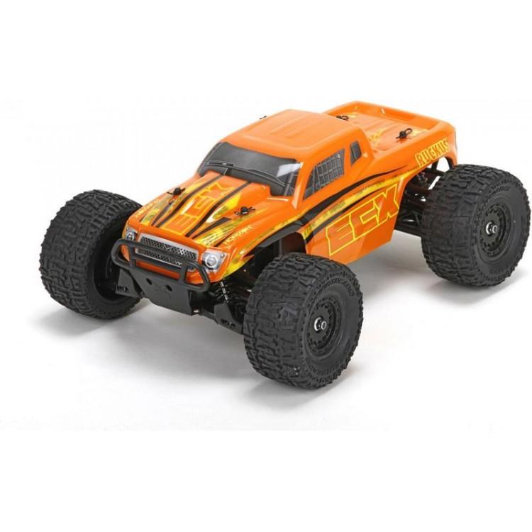 ECX Ruckus Monster Truck 4WD 1:18 RTR oranžový