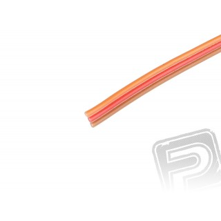 Kabel třížilový plochý tenký JR 0.15mm2