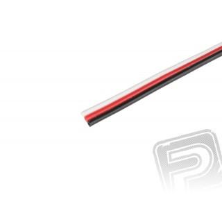Háromeres FU 0.15mm2 lapos, vékony kábel