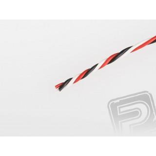 Háromeres, sodrott rövid FU 0.15mm2 kábel