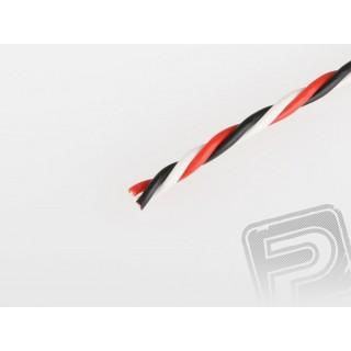 Sodrott vastag FU 0.25mm2 háromeres kábel