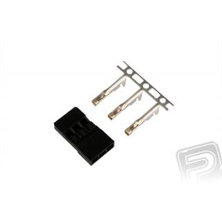 JR001 servokonektor JR (balení 10ks)