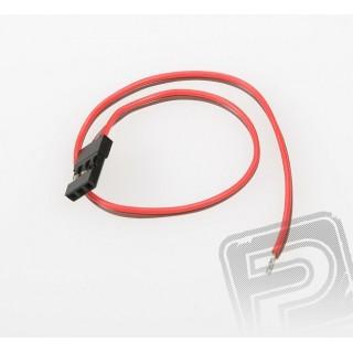 JR008 RX akkumulátor-kábel