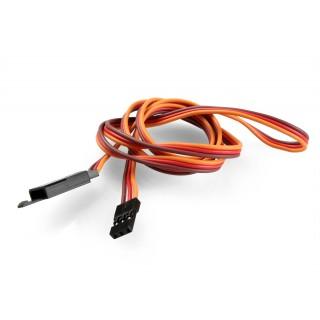 JR015 hosszabbító kábel 75cm JR biztosítékkal