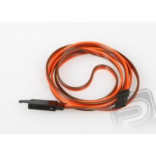 JR016 Hosszabbító kábel 90cm JR biztosítékkal