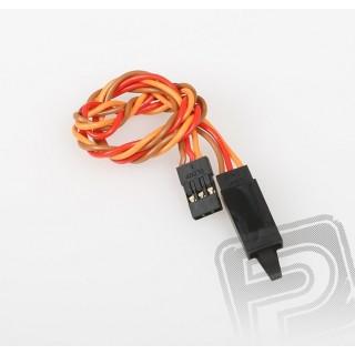 JR020 Sodrott hosszabbító kábel 30cm biztosítékkal