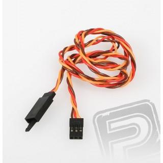 JR022 Sodrott hosszabbító kábel 60cm biztosítékkal
