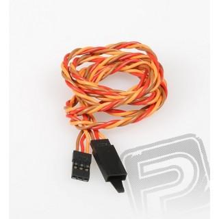 JR024 Sodrott hosszabbító kábel 90cm biztosítékkal