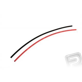Zsugorcső kábelekhez piros és fekete 3,0 mm (25 cm)