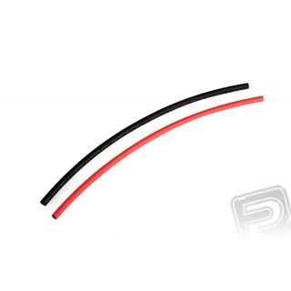Zsugorcső kábelekhez piros és fekete 5,0 mm (25 cm)